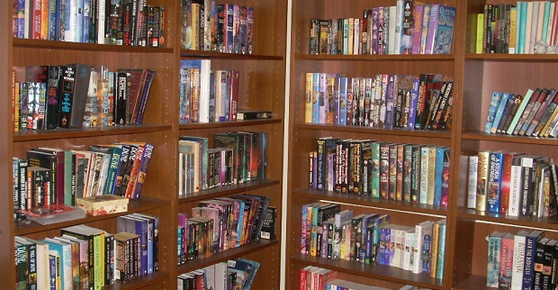 Monster Bookshelves