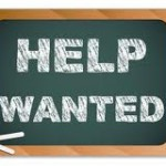 help wanted chalkboard