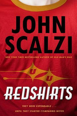 [cover of Redshirts by John Scalzi]