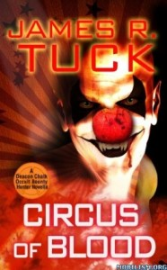 Circus of Blood by James R Tuck book cover
