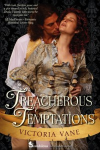 Treacherous Temptations by Victoria Vane
