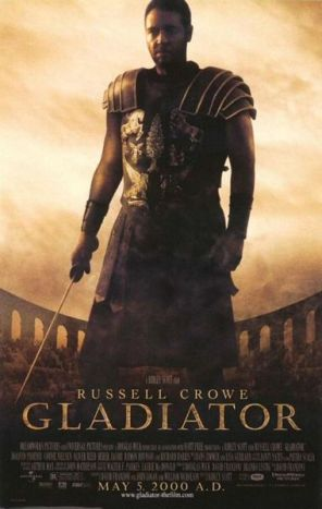 [movie poster for Gladiator]
