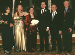 Marlene and Galen wedding picture