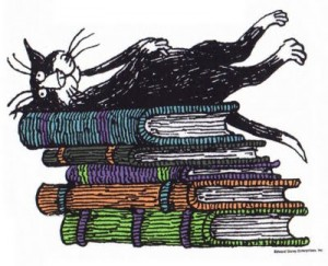 Books Cats Edward Gorey