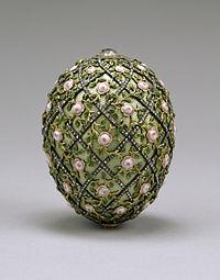 Rose Trellis Faberge Egg