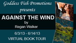 Goddess Fish Against the Wind Banner