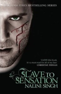 Slave to Sensation by Nalini Singh UK Cover