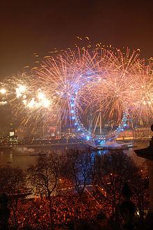 Fireworks over London!