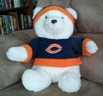 Chicago Bear Teddy Bear