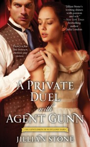 Private Duel with Agent Gunn by Jillian Stone