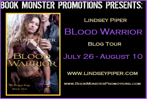 Blood Warrior Blog Tour Button
