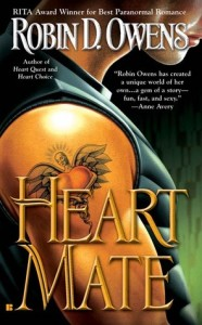 Heart Mate by Robin D. Owens new cover