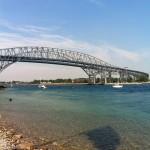 This was my inspiration for the river and bridge that connects Westwood and Riverside. (Bluewater Bridge, Ontario, Canada) (Photo Credit: Christina Esdon)