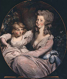 Peggy Shippen Arnold and daughter