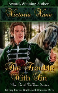 trouble with sin by victoria vane