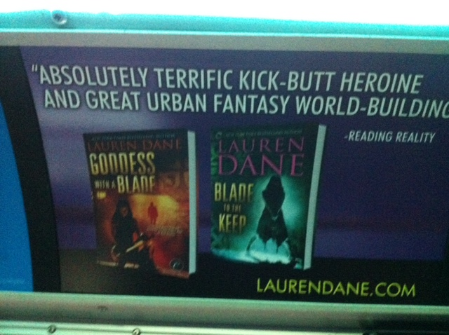 blade to the keep bus ad