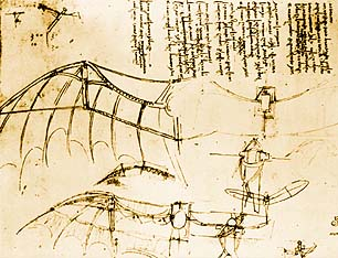 Da Vinci's Sketches  - created without benefit of dragons.