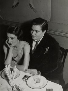 Lesbian Couple at Le Monocle, 1932 by Brassaï