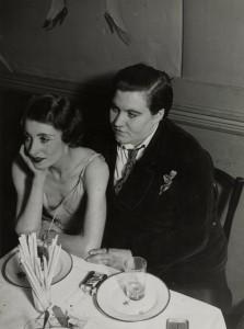 Lesbian Couple at Le Monocle, 1932 by Brassaï