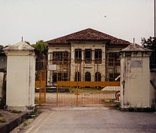 Kampong Glam Palace in 2001