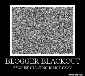 blogger blackout badge