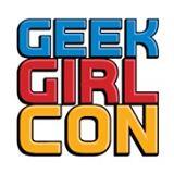 geek girl con logo