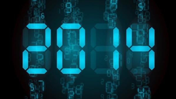 2014 digital numbers