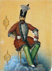 Shah Nasser-al Din, 1854