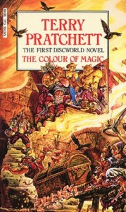 color of magic by terry pratchett