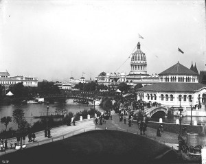 """Chicago World's Columbian Exposition 1893"" by ""Unidentified photographer"" - http://flickr.com/photos/smithsonian/2575672248/. Licensed under Public Domain via Wikimedia Commons - http://commons.wikimedia.org/wiki/File:Chicago_World%27s_Columbian_Exposition_1893.jpg#/media/File:Chicago_World%27s_Columbian_Exposition_1893.jpg"
