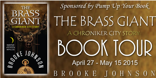 The Brass Giant Book Banner