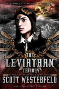 leviathan trilogy by scott westerfield