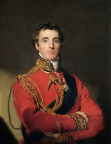 The Duke of Wellington, by Sir Thomas Lawrence. Painted in 1814, a few months before the Battle of Waterloo.