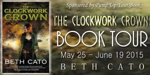 The Clockwork Crown Book Banner