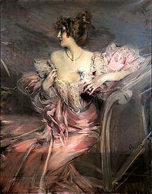 Marthe de Florian by Giovanni Boldini (1888)