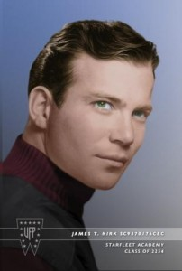 A James T. Kirk, Starfleet Academy photo is shown in this undated handout photo provided by CBS, September 4, 2015.  REUTERS/CBS/Handout via Reuters