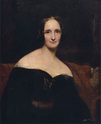 Mary Shelley by Richard Rothwell c. 1840