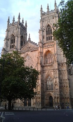West front of York Minster