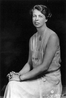 Eleanor Roosevelt in 1932