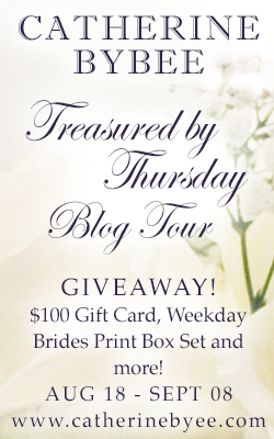 Treasured by Thursday tour graphic