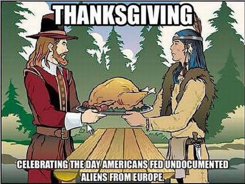 first thanksgiving refugees