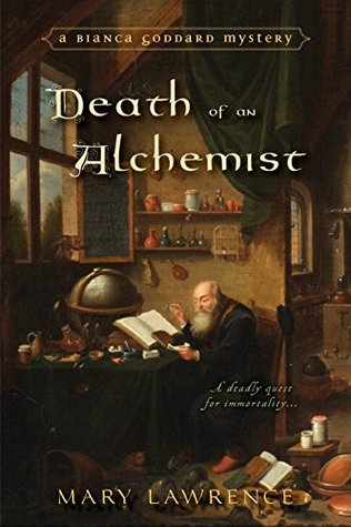Review: Death of an Alchemist by Mary Lawrence + Giveaway