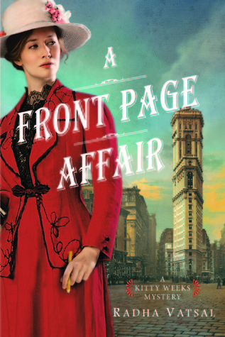 Review: A Front Page Affair by Radha Vatsal + Giveaway