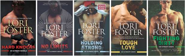 lori foster ultimate covers