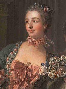 Madame de Pompadour, portrait by François Boucher