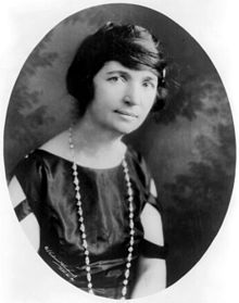 Margaret Sanger in 1922