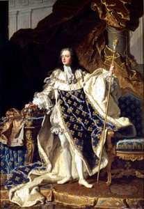 Louis XV by Rigaud (1730)