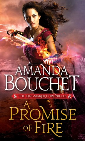 Review: A Promise of Fire by Amanda Bouchet + Giveaway