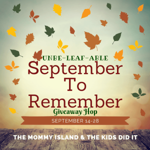 unbe leaf able september to remember giveaway hop