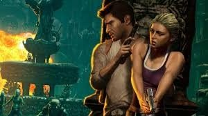 uncharted drake and elena paint